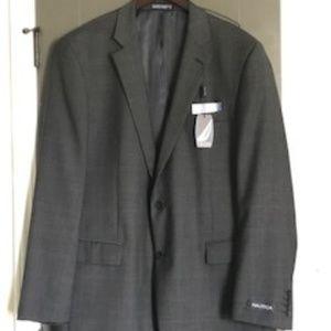 Nautica Charcoal Suit Jacket